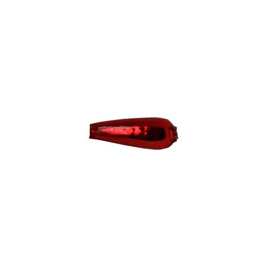 """10 Red Drop Blown Glass Beads .625"""" ~ Czech Republic"""