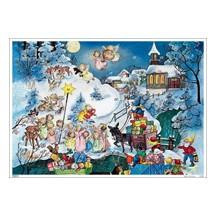 Little Angels Vintage Style Advent Calendar