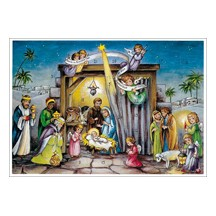 Heavenly Manger Advent Calendar ~ Germany