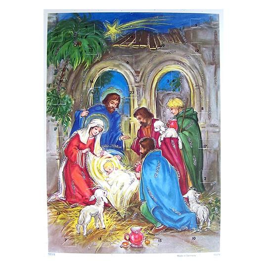 Holy Child Vintage Style Advent Calendar