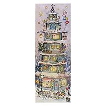 Large Multi-Storey Christmas House Advent Calendar