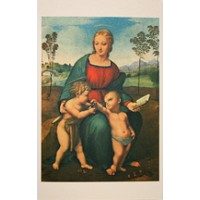Madonna of the Goldfinch Card ~ Italy