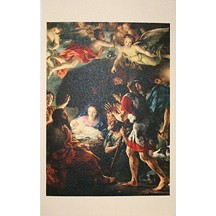 Adoration of the Shepherds Card ~ Italy