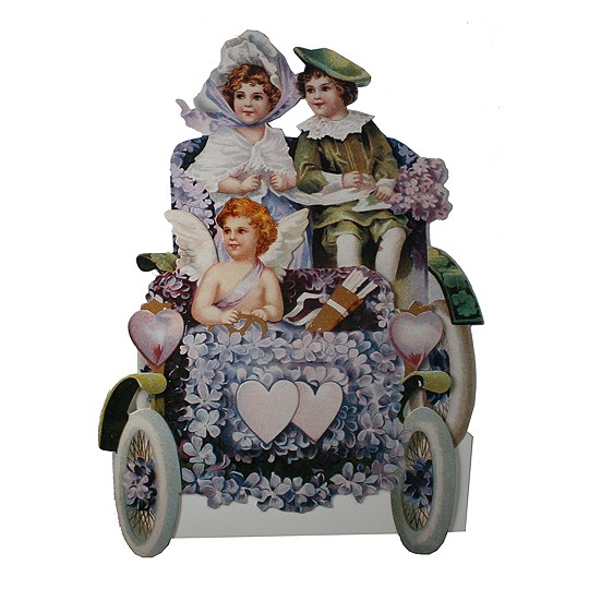 Victorian Valentine Car Card