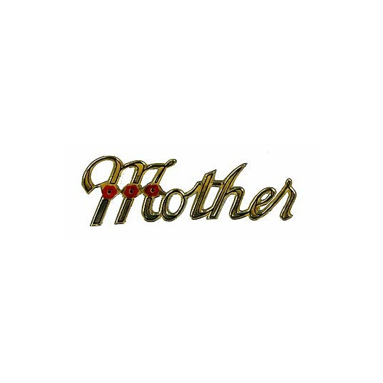 Vintage Gold Dresden Mother Scripts ~ 8