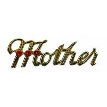 Vintage Gold Dresden Mother Scripts ~ 8
