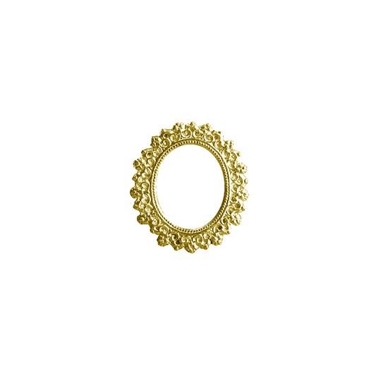 Gold Dresden Foil Frames ~ 5