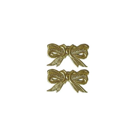 Gold Dresden Medium Bows ~ 10