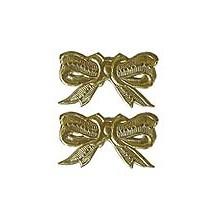Gold Dresden Medium Bows ~ 10