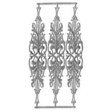 Silver Dresden Foil Embellishments ~ 3