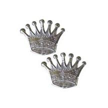 Silver Dresden Foil Crowns ~ 10