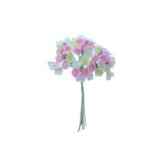 1 Bouquet of Paper Forget Me Nots in Candy Mix