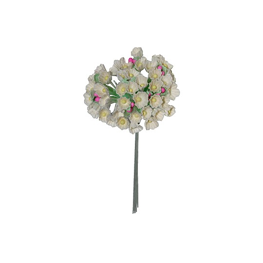 1 Bouquet of Paper Forget Me Nots in Ivory