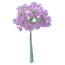 1 Bouquet of Paper Forget Me Nots in Lavender