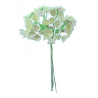 1 Bouquet of Paper Forget Me Nots in Light Yellow