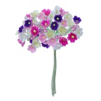 1 Bouquet of Paper Forget Me Nots in Sweet Mix