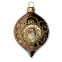Fancy Rosy Copper Santa Indent