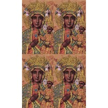Our Lady of Czetchowa Lithographed Prayer Cards ~ Italy