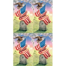 Patriotic Lithographed Prayer Cards ~ Italy