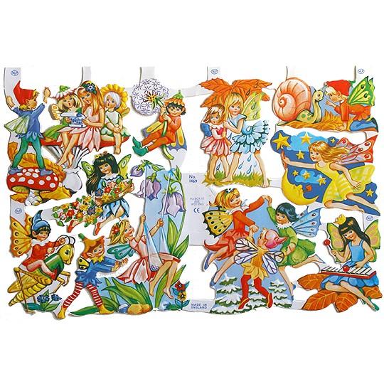 Fairy & Sprite Scraps ~ England