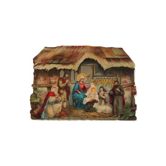 Large Nativity Scrap ~ Germany