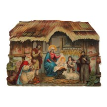 Large Nativity Scrap ~ Germany