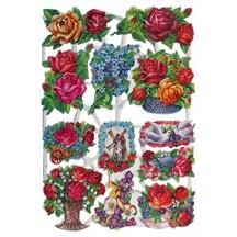 Roses & Flowers Scraps ~ Germany
