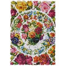 Vintage Florals Scraps ~ W. Germany