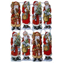 Santa with Gifts Scraps ~ Germany
