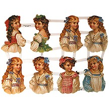 Victorian Girl Scraps ~ Germany