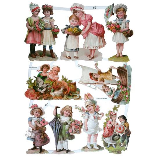 Sweet Victorian Children Scraps ~ Germany