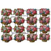 Flower Basket Scraps ~ Germany