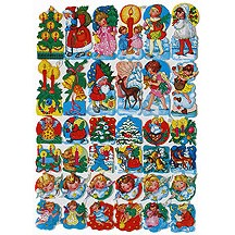 Colorful Christmas Scraps ~ Germany