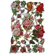 Mixed Florals Scraps ~ Germany