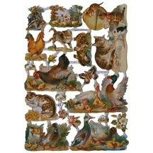 Farmyard Animals Scraps ~ Germany