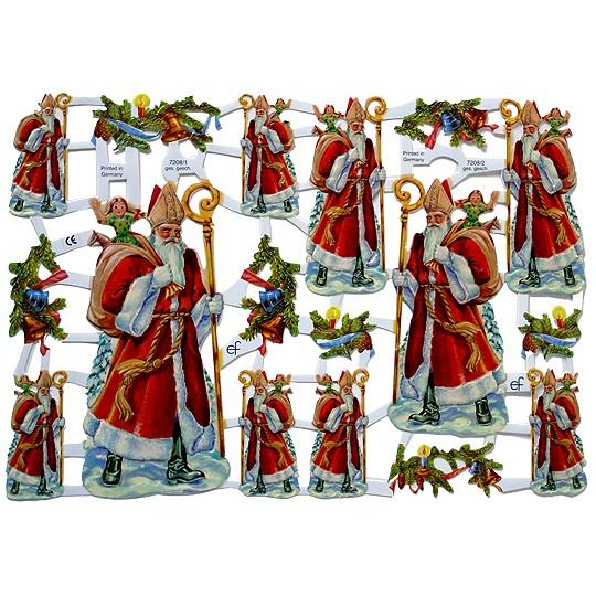 European Santa Scraps ~ Germany
