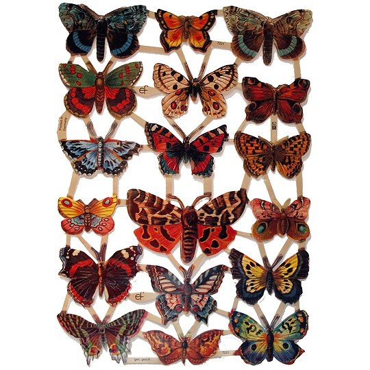 Beautiful Butterfly Scraps ~ Germany