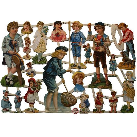 Victorian Children Scraps ~ Germany
