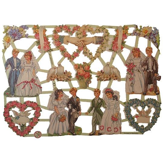 Wedding & Flowers Scraps ~ Germany