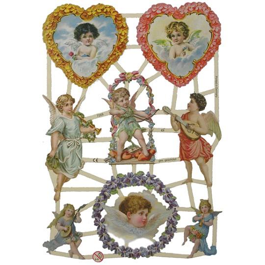 Valentine Angels Scraps ~ Germany