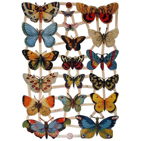 Beautiful Butterflies Scraps ~ Germany