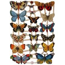 Beautiful Butterflies Scraps ~ Germany