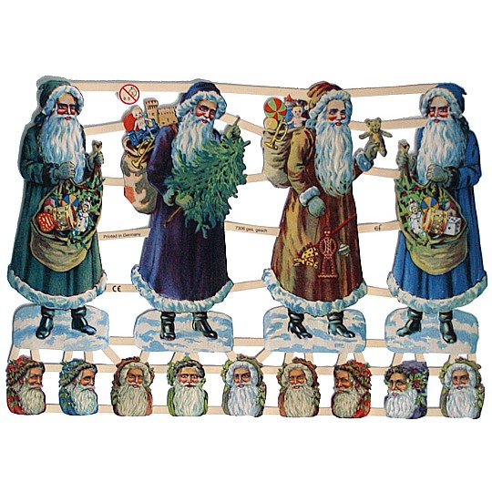 Victorian Santa Scraps ~ Germany