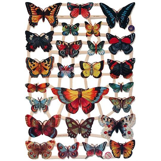 Pretty Butterfly Scraps ~ Germany