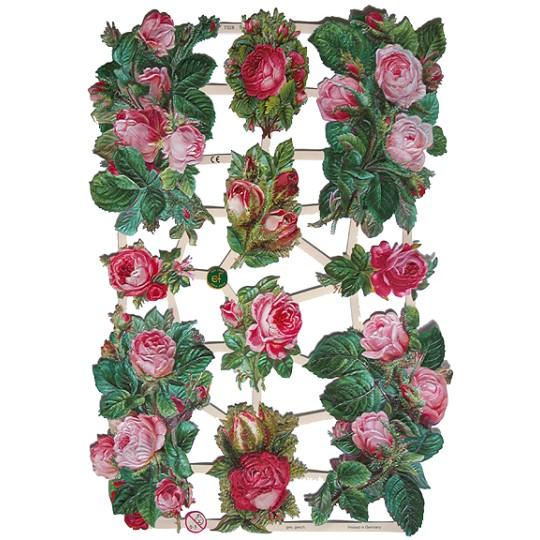 Pink Roses Scraps ~ Germany