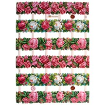 Pretty Roses Border Scraps ~ Germany ~ 2011