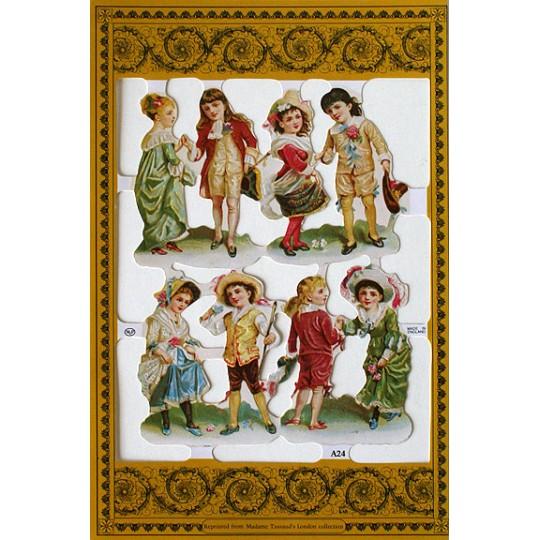 Victorian Children Scraps ~ England