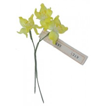 Spray of Yellow Organdy Jonquil Flowers ~ Vintage Germany