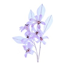 Spray of Lavender Silk Hyacinth Blossoms ~ Vintage Japan