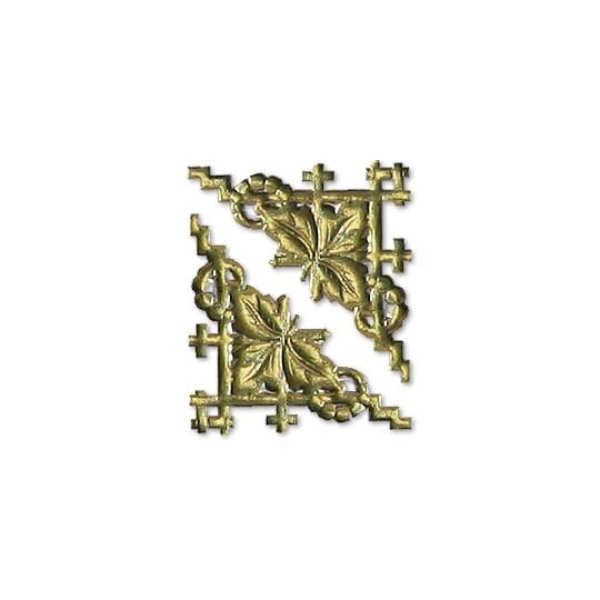 Gold Dresden Foil Fancy Corners ~ 20